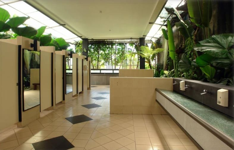 Sutera Mall toilets cleanup with EM