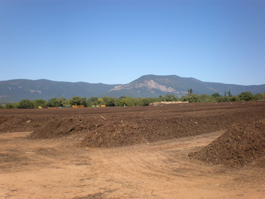Composting field