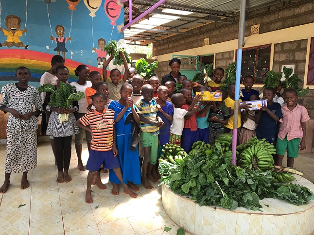 Supporting an Orphan Home Through Fresh Produces