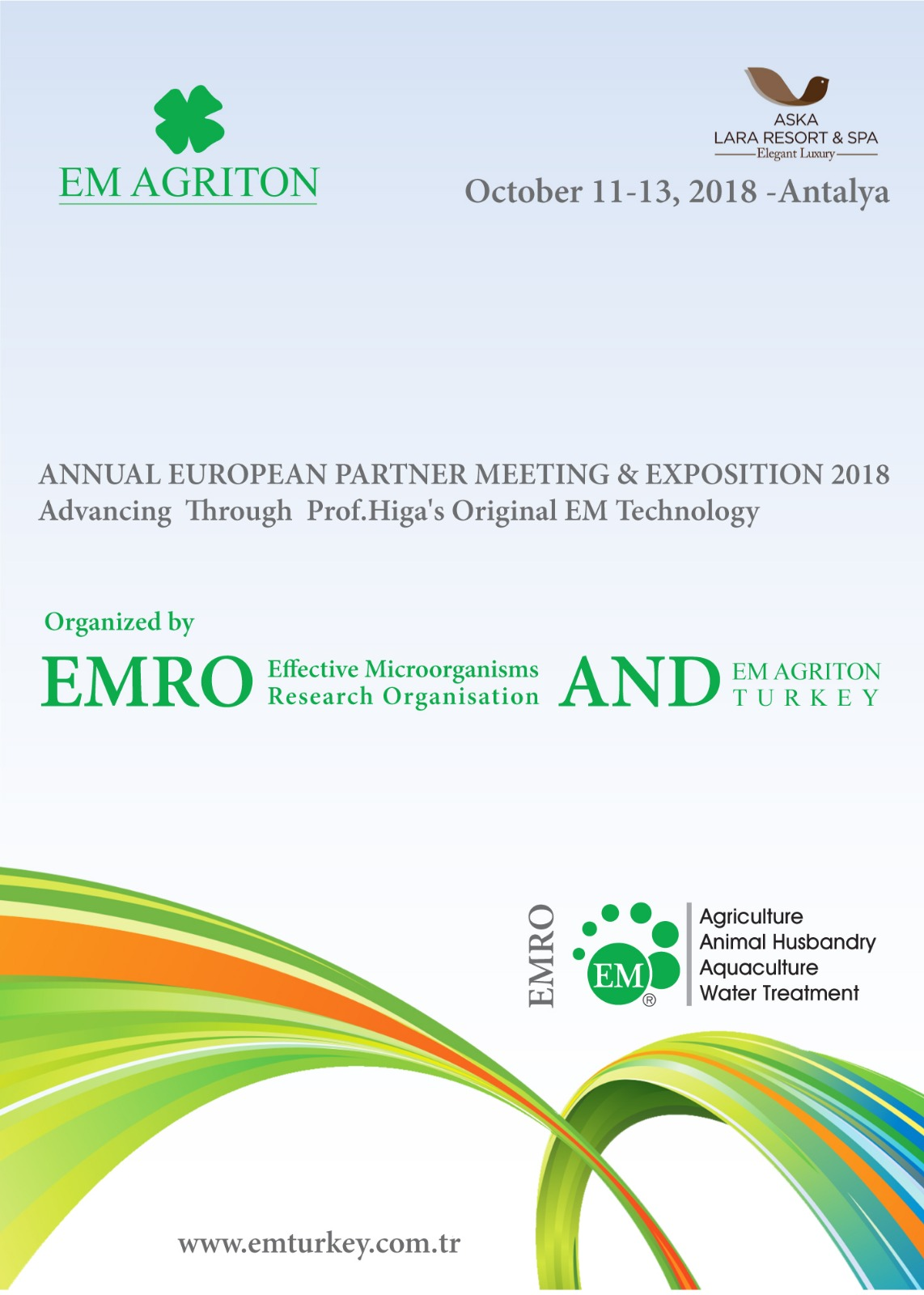 Annual European Partner Meeting & Exposition 2018